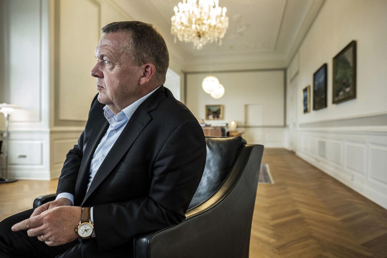Statsminister Lars Løkke Rasmussen (V) Fotograferet i Statsministeriet.
