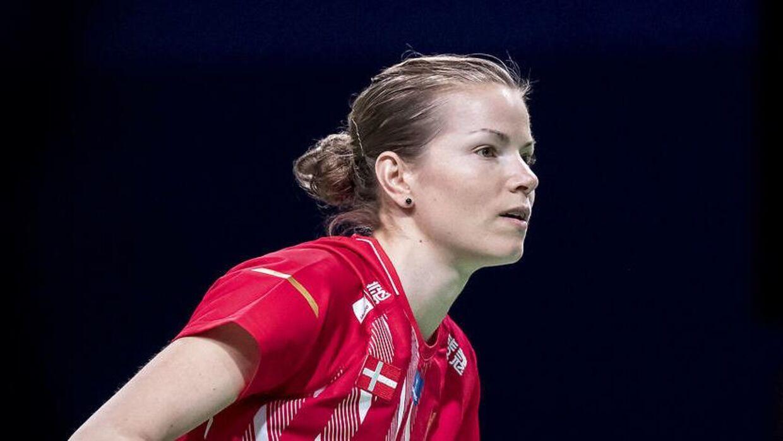 Christinna Pedersen. Akrivfoto.