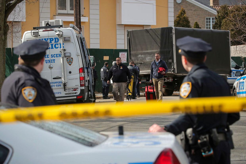 """Politiet arbejder på at opklare drabet på Francesco """"Franky Boy"""" Cali."""