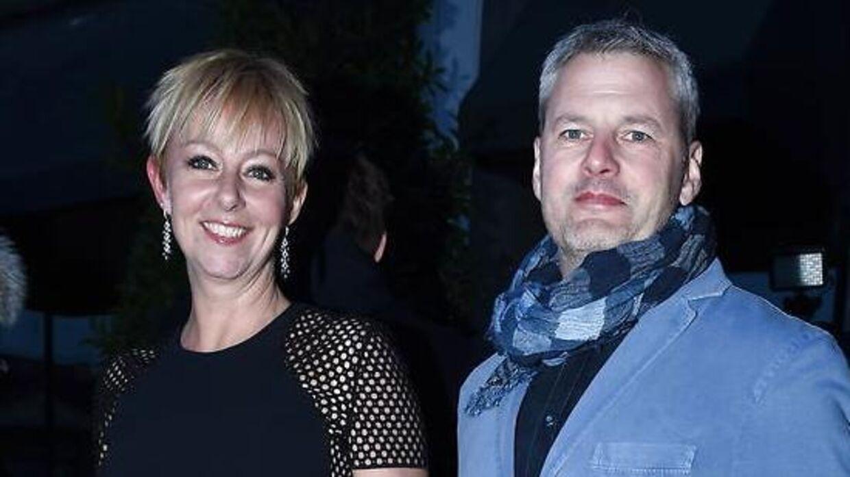 Her ses Puk Elgård tilbage i 2015 sammen med kæresten Lothar Friis.