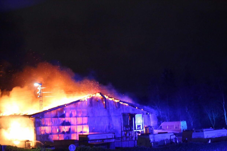 Brand i Viborg.