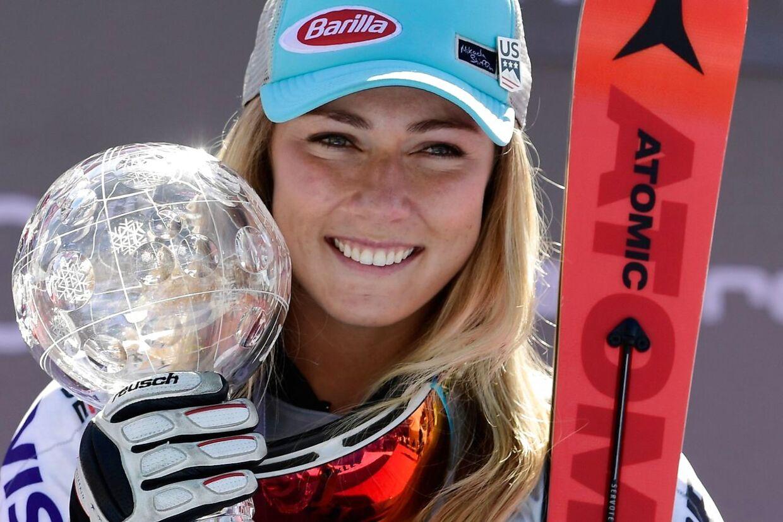 Mikaela Shiffrin er en kæmpe sensation inden for skisporten.