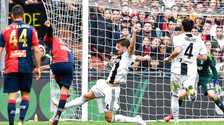 Genoa slog Juventus 2-0.