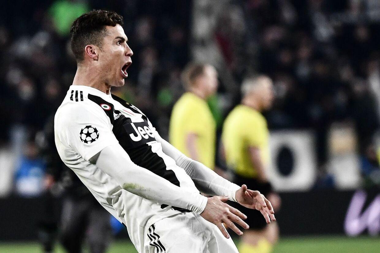 Cristiano Ronaldo kan måske se frem til en straf for en lidt for fræk jubelscene mod Atlético Madrid.