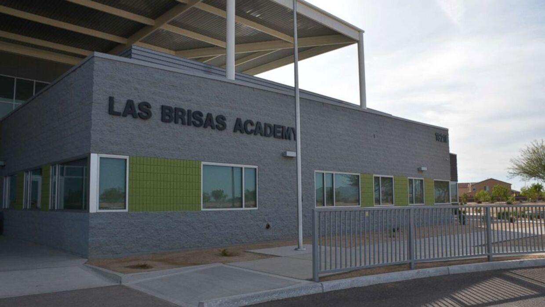 Det var her på Las Brisas Academy, at Brittany Zamora forførte den 13-årige elev.