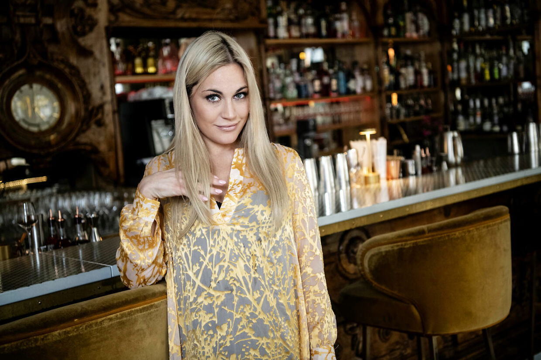 Amalie Szigethy kom til at afsløre sin medvirken i programmet Kender du typen.