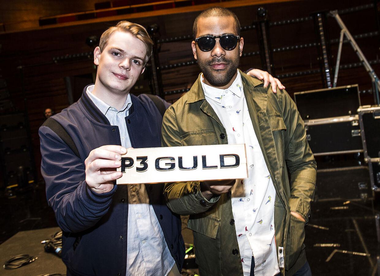 Ukendst Kunstner da de vandt P3 Guld.