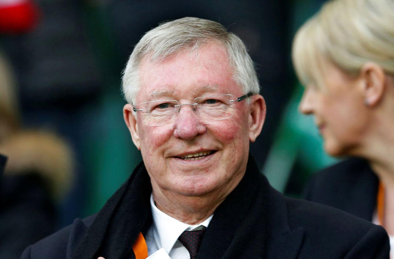 Alex Ferguson er i dag 77 år og træner ikke længere fodbold.
