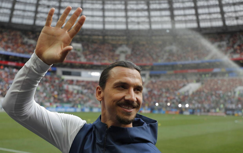 Zlatan Ibrahimovic spiller i dag hos LA Galaxy i USA.