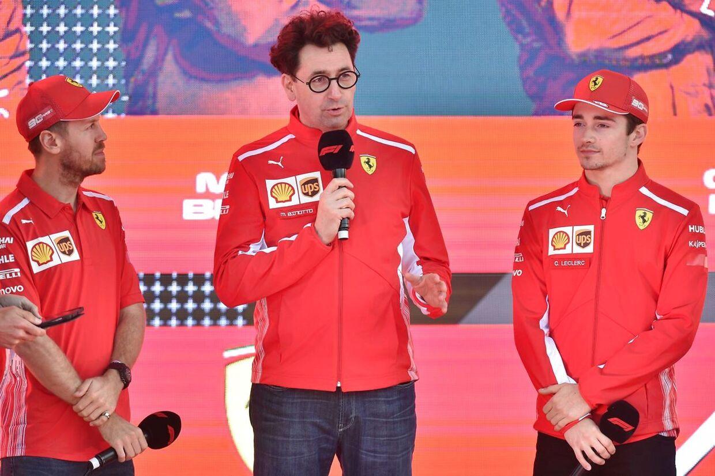 Ferraris Sebastian Vettel og Charles Leclerc sluttede som henholdsvis nummer fire og fem, men det billede kunne have set anderledes ud, hvis Leclerc havde fået lov til at angribe sin holdkammerat, da han havde muligheden sent i løbet.