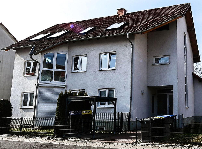 En af de adresser i Erfurt, der er blevet gennemsøgt af tysk politi.
