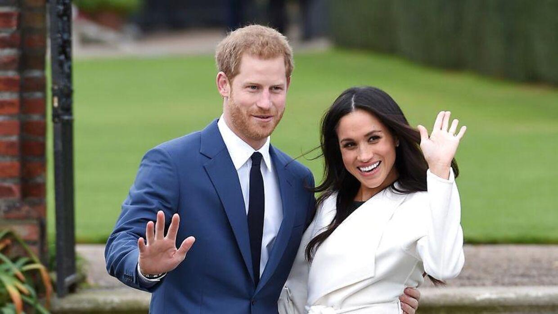 Hertuginde Meghan Markle sin ægtemand, prins Harry.