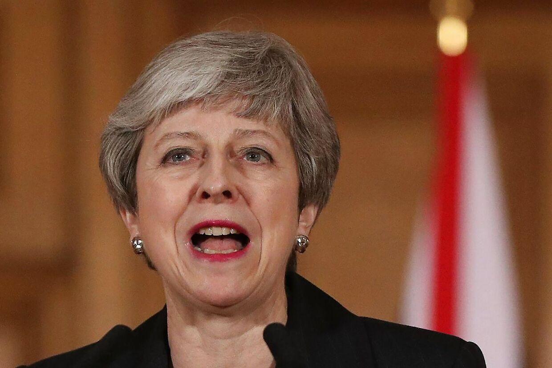 Theresa May ønsker at udskyde brexit frem til 30. juni.