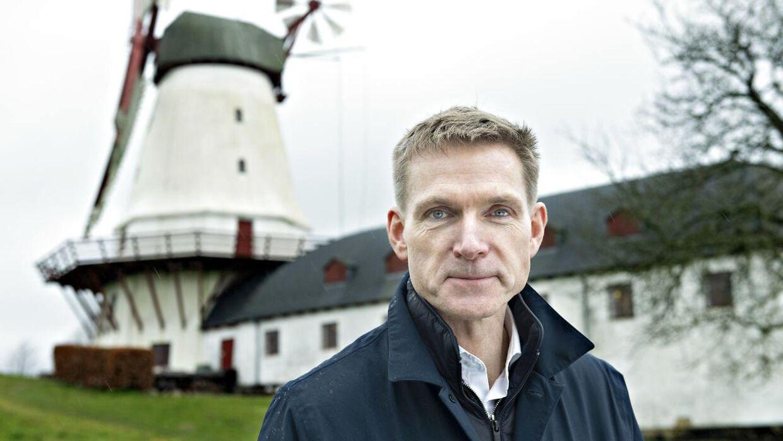 Kristian Thulesen Dahl på tur i Sønderjylland. Besøg på Dybbøl Mølle. Sønderborg torsdag den 7. marts 2019.