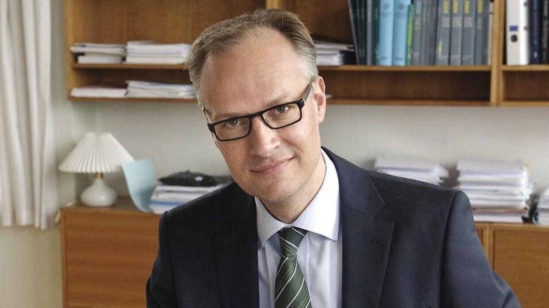 Hofchef og kammerherre Christian Schønau. (Foto: Jens Nørgaard Larsen/Scanpix 2010)