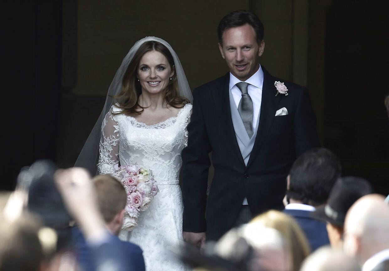 Geri Halliwell blev i 2015 gift med Christian Horner i Woburn i det sydlige England.