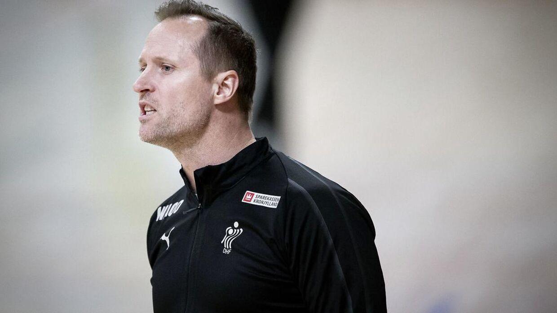 Klavs Bruun Jørgensen har været dansk landstræner i tre år.