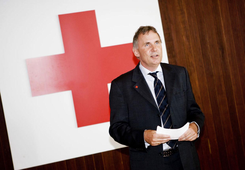 Generalsekretær i Røde Kors, Anders Ladekarl.