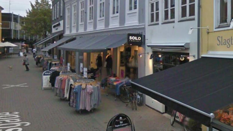 Tøjbutikken Solo i Svendborg er en af de 22 lukkede tøjbutikker.