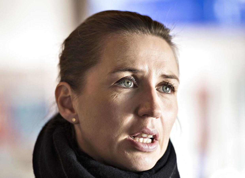 Mette Frederiksen, formand for Socialdemokratiet
