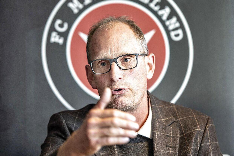 FCM-sportschef Svend Graversen.