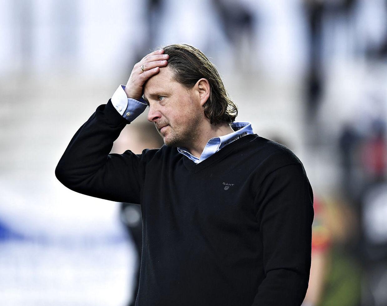 Horsens-træner Bo Henriksen.