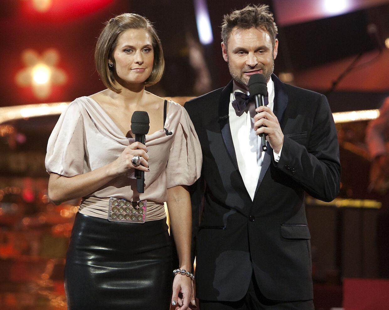 Andrea Elisabeth Rudolph har været vært på 'Vild med dans' i fem sæsoner fra første sæson i 2005.