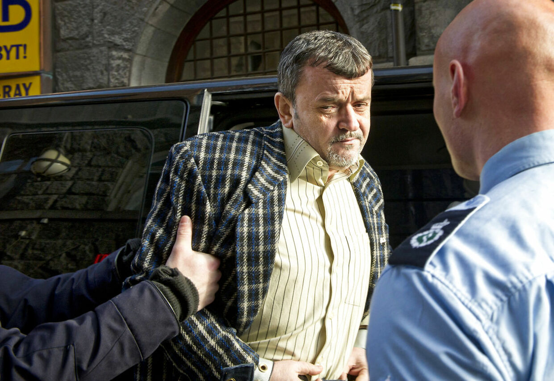 Marian Clita uden for Københavns Byret torsdag den 24. februar 2011. Han blev idømt 14 års fængsel samt udvisning for altid af Danmark.
