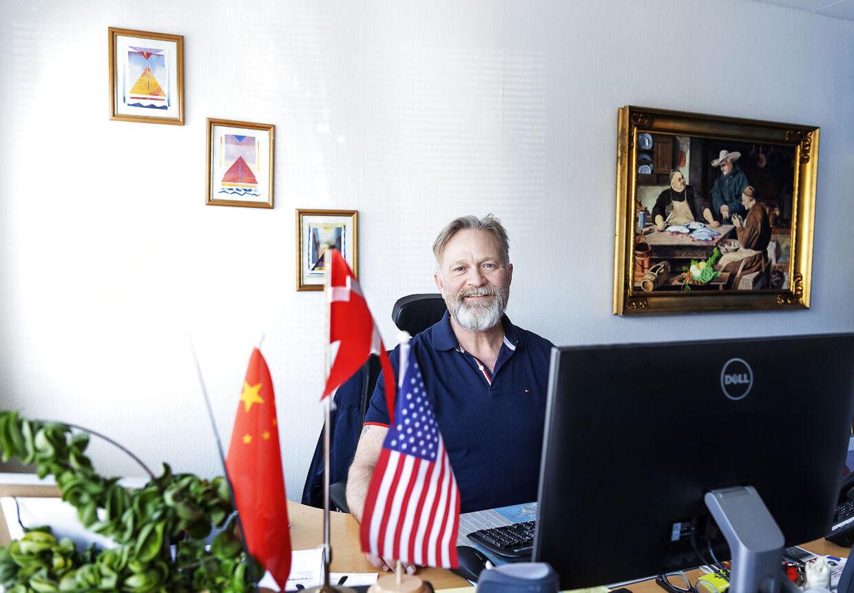 Sidste år under et ophold i Kina mødte Jørgen Würtzner Koch Chloe, som han i dag er blevet gift med.