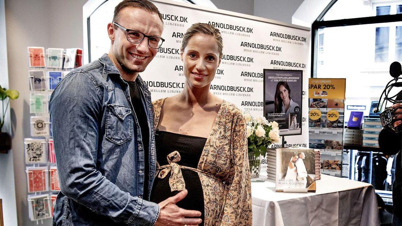Lea Hvidt Kessler holdt fredag reception for sin nye bog i København.