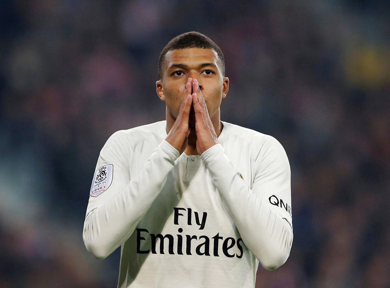 Kylian Mbappe og Paris Saint-Germain forsømte endnu engang muligheden for at vinde det franske mesterskab i nederlaget i Lille.