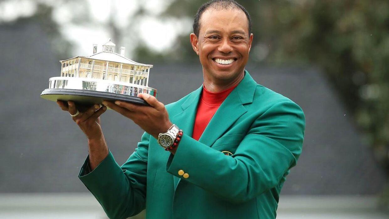 Tiger Woods vandt US Masters søndag aften dansk tid.