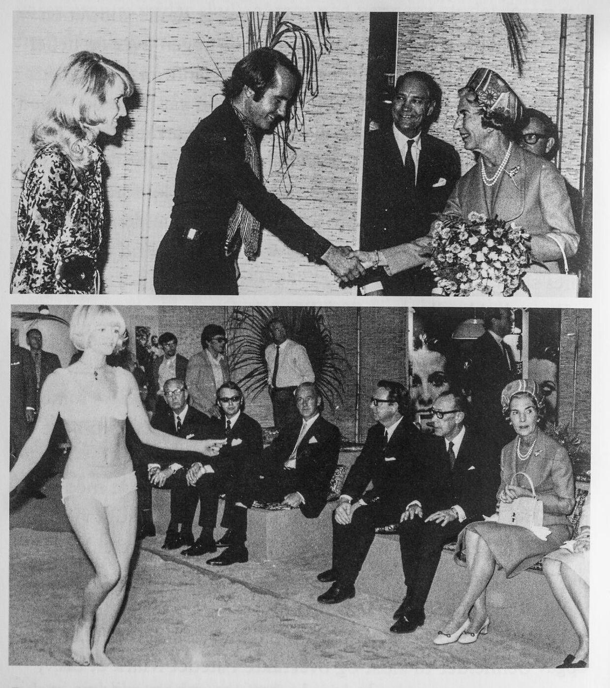 Der var både nøgenmodeller, verdensstjerner og Dronning Ingrid i Brandt-parrets omgangskreds.