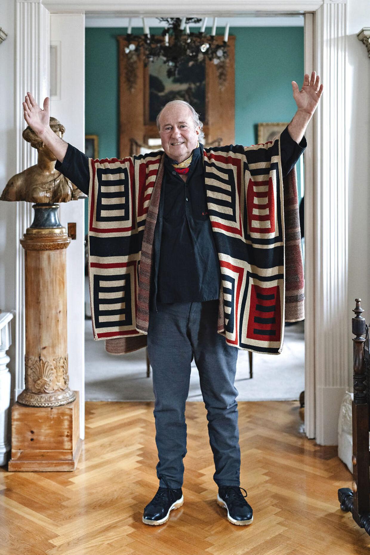 Erik Brandt var blandt de første til at indføre lårkort mode i Danmark