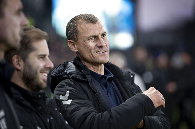 Brøndbys sportschef Ebbe Sand før superligakampen mellem Brøndby IF- OB på Brøndby Stadion, fredag den 29. marts 2019.. (Foto: Liselotte Sabroe/Ritzau Scanpix)