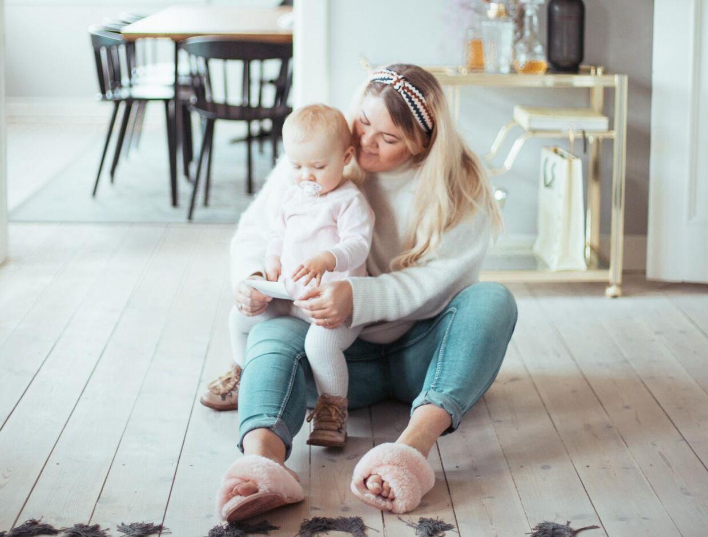 Elise skal snart være storesøster. Det kunne Christine Egholm for nyligt fortælle på sin Instagram og blog.