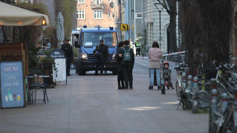 Københavns Politi opfordrer borgere til at holde sig fra Blågårds Plads.