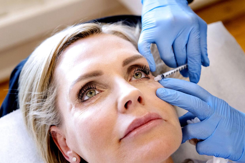 Cirka hver fjerde måned får Janni Ree lavet en ny Botox-behandling.