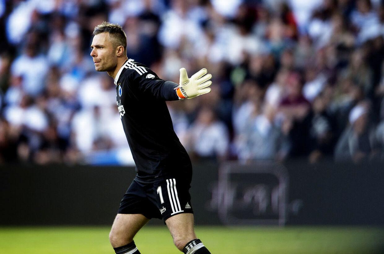 Stephan Andersen mener, at FC Midtjylland er en større konkurrent for FC København end hans tidligere klub, de historiske rivaler fra Brøndby IF.