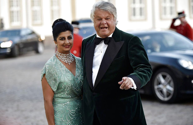 Christian Kjær og hustru Susan Astani overvejer at flytte. (Foto: Thomas Lekfeldt/Scanpix 2015)