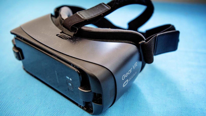 VR-brillerne er et godt redskab til at bekæmpe stress med.