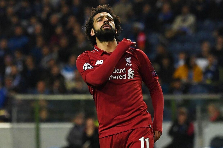 Mohamed Salah kom på måltavlen i onsdagens Champions League-kvartfinale mod FC Porto.