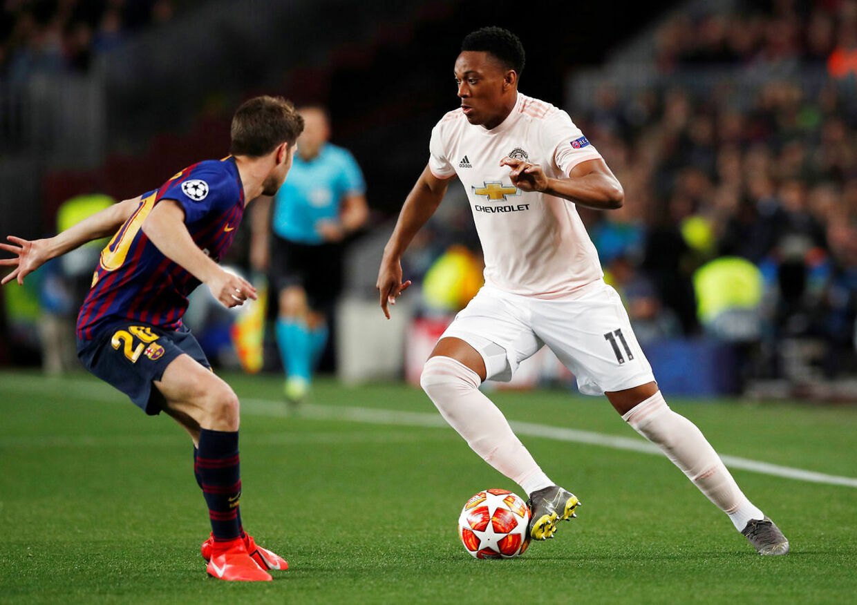 Anthony Martial mod Barcelona.