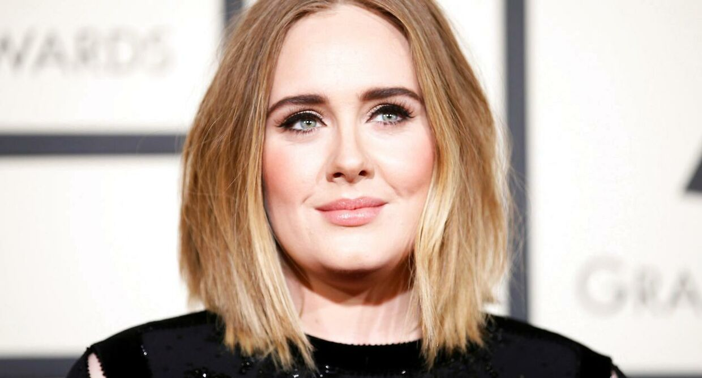 ARKIVFOTO af Adele.