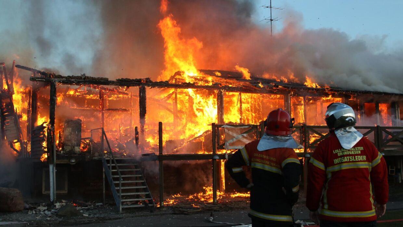 Klubhuset i B. 1901 brændte natten til lørdag
