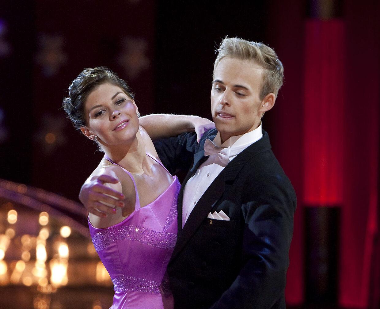 Lotte Friis havde Mads Vad som dansepartner under 'Vild med dans' i 2009.