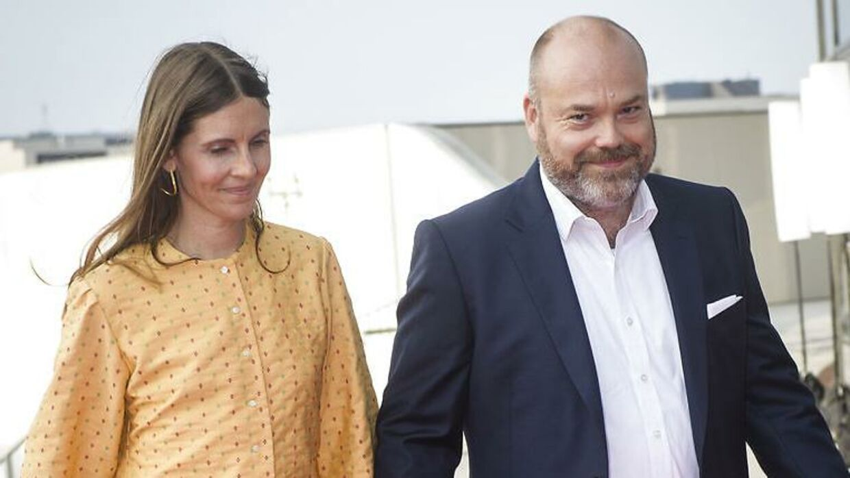 Anne og Anders Holch Povlsen.