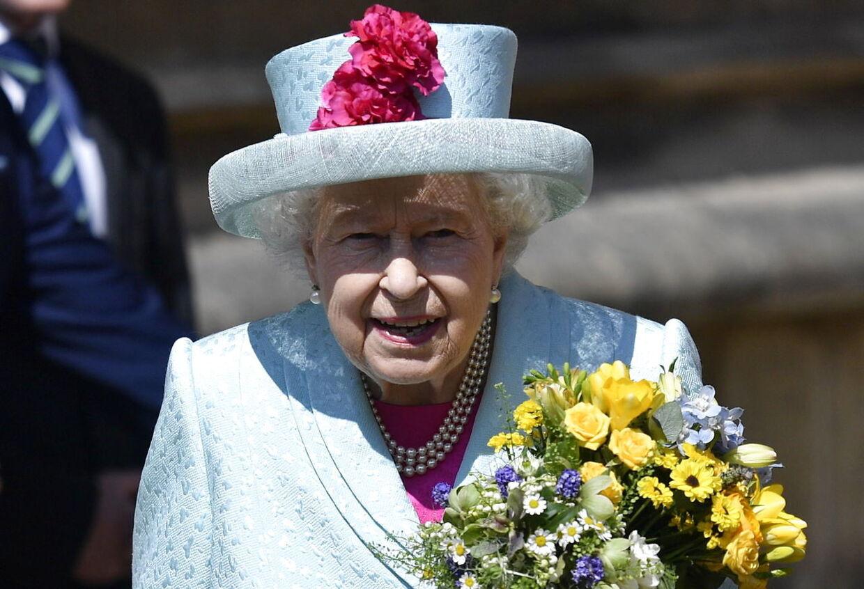 Dronning Elizabeth på sin 93 års fødselsdag.