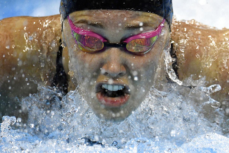 Jeanette Ottesen er Danmarks mest vindende elitesvømmer med mere end 50 medaljer.