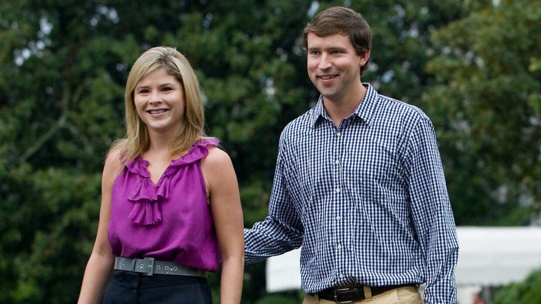 Jenna Bush Hager og hendes mand Henry Hager. (Arkivfoto)